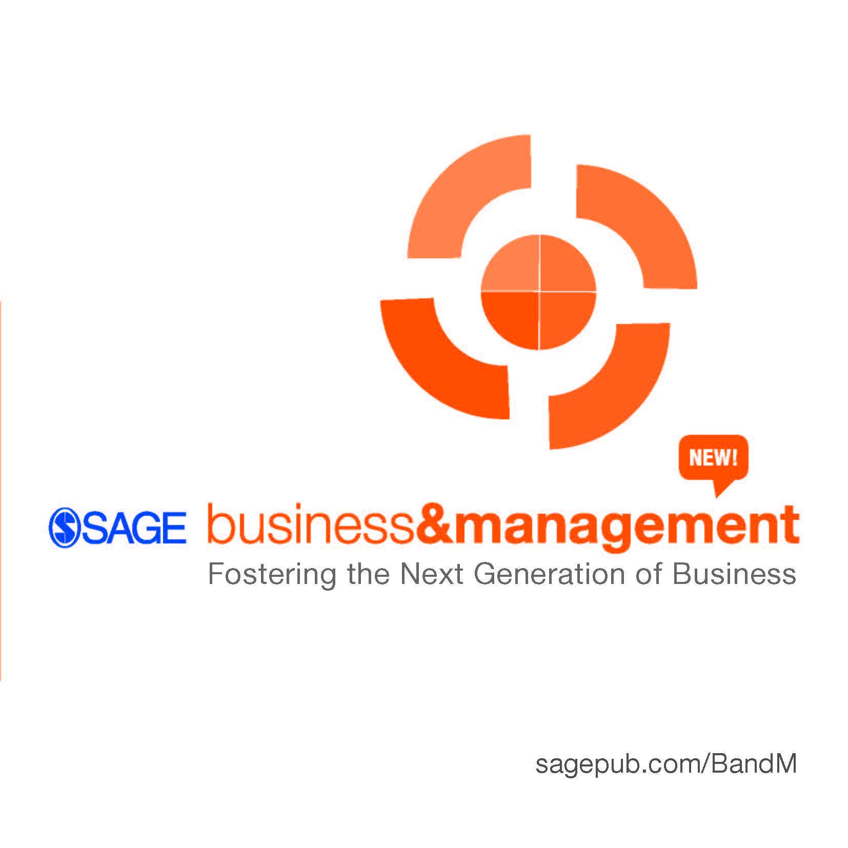 SAGE Business & Management Brochure
