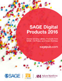 SAGE Digital Products 2016