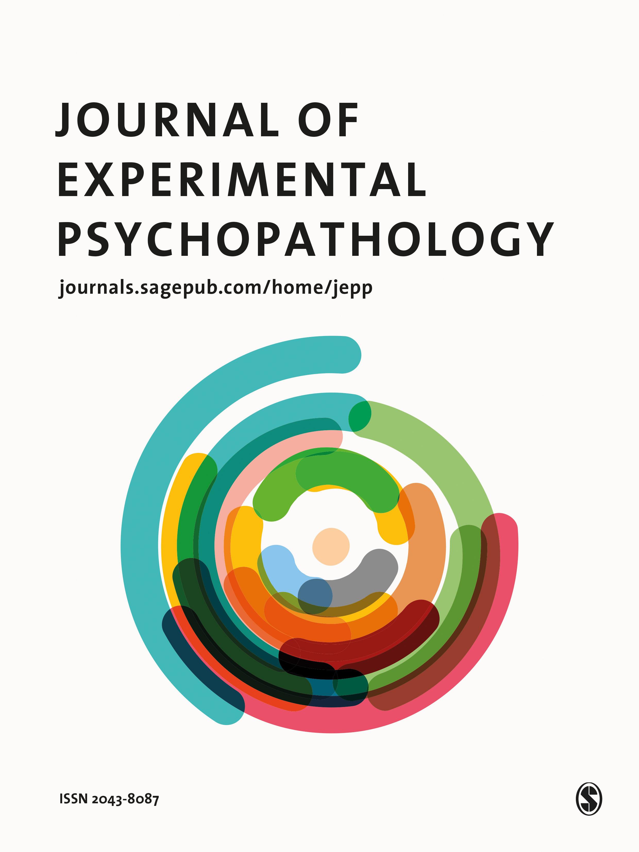 Journal of Experimental Psychopathology