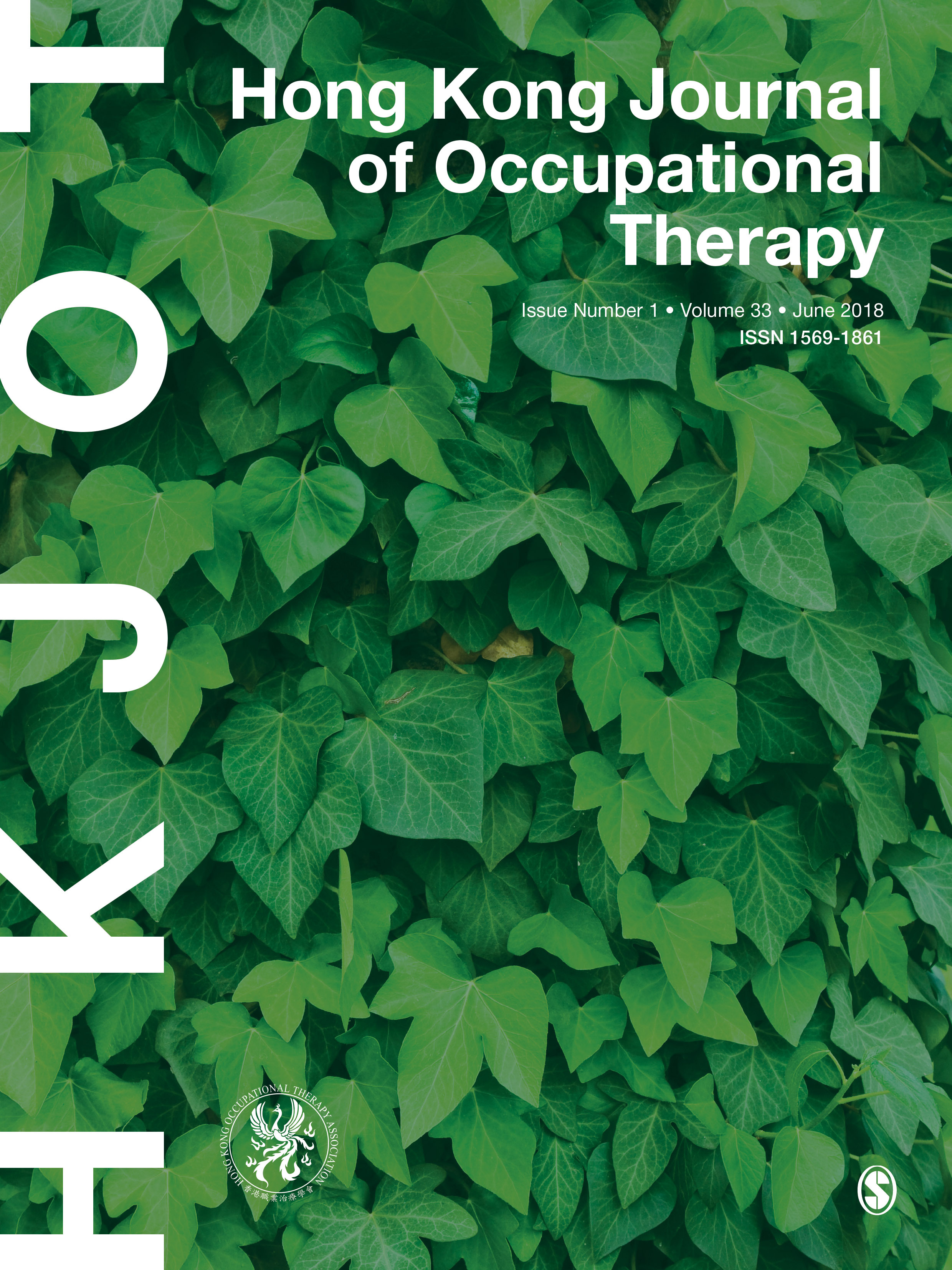 Hong Kong Journal of Occupational Therapy
