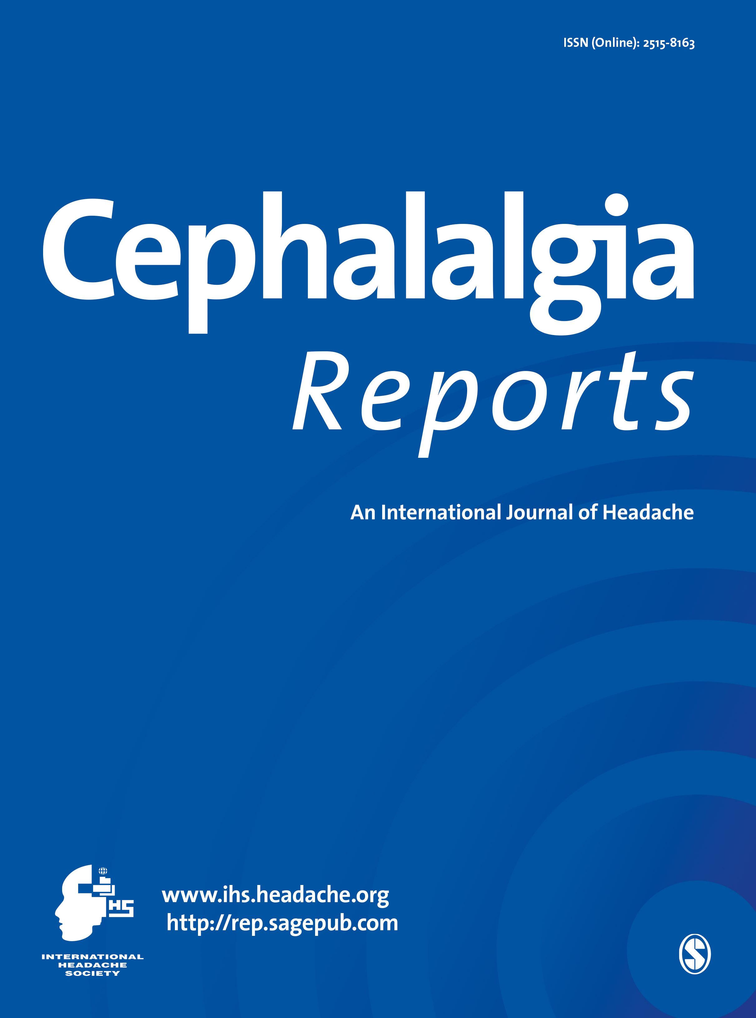 Cephalalgia Reports