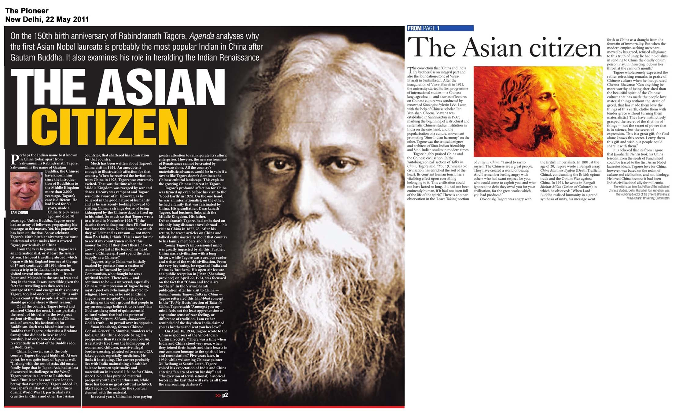 Critical Acclaim For Tagore And China  Sage India Critical Acclaim For Tagore And China