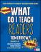 What Do I Teach Readers Tomorrow? Fiction, Grades 3-8