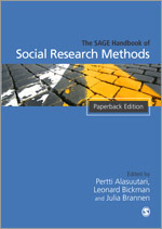 The Sage Handbook Of Social Research Methods Sage Publications Ltd