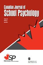 Canadian Journal of School Psychology