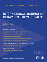 International Journal of Behavioral Development